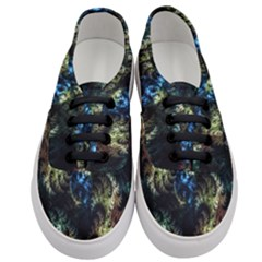 Abstract Digital Art Fractal Women s Classic Low Top Sneakers