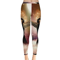 Awesome Dark Fairy In The Sky Inside Out Leggings