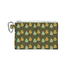 Pears Brown Canvas Cosmetic Bag (small)
