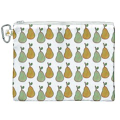 Pears White Canvas Cosmetic Bag (xxl)