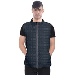 Contemplaid14deepmin Men s Puffer Vest by plaides