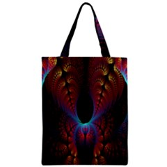 Abstract Abstracts Geometric Zipper Classic Tote Bag