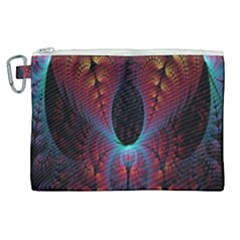 Abstract Abstracts Geometric Canvas Cosmetic Bag (xl) by Samandel