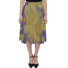 Color Explosion Colorful Background Classic Midi Skirt