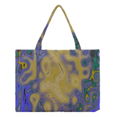 Color Explosion Colorful Background Medium Tote Bag by Samandel