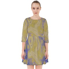 Color Explosion Colorful Background Smock Dress