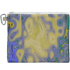 Color Explosion Colorful Background Canvas Cosmetic Bag (xxxl)