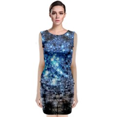 Abstract Fractal Magical Classic Sleeveless Midi Dress