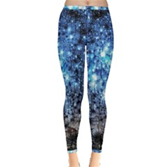 Abstract Fractal Magical Inside Out Leggings