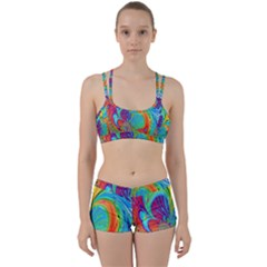 Fractal Art Psychedelic Fantasy Perfect Fit Gym Set