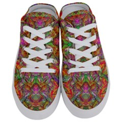 Background Psychedelic Colorful Half Slippers
