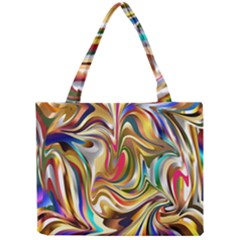 Wallpaper Psychedelic Background Mini Tote Bag by Samandel