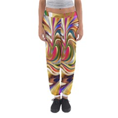 Wallpaper Psychedelic Background Women s Jogger Sweatpants by Samandel