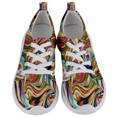 Wallpaper Psychedelic Background Women s Lightweight Sports Shoes