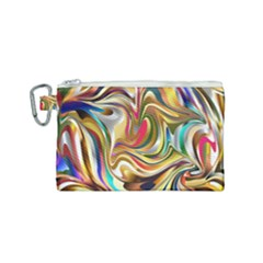 Wallpaper Psychedelic Background Canvas Cosmetic Bag (small)