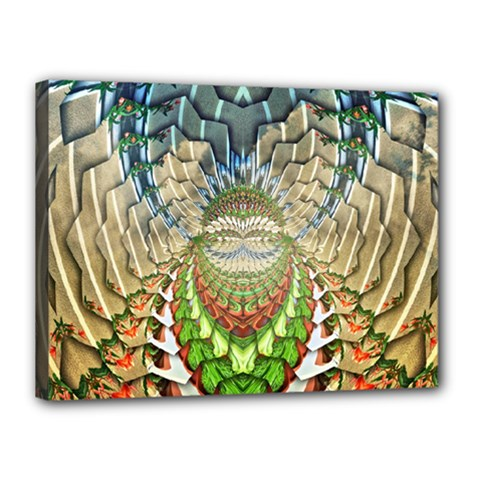 Abstract Fractal Magical Canvas 16  X 12  (stretched)