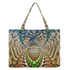 Abstract Fractal Magical Zipper Medium Tote Bag