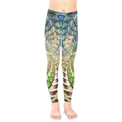 Abstract Fractal Magical Kids  Legging