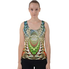 Abstract Fractal Magical Velvet Tank Top