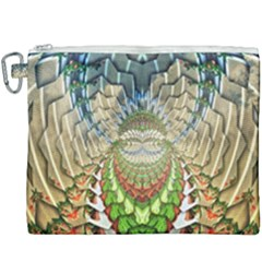 Abstract Fractal Magical Canvas Cosmetic Bag (xxxl)
