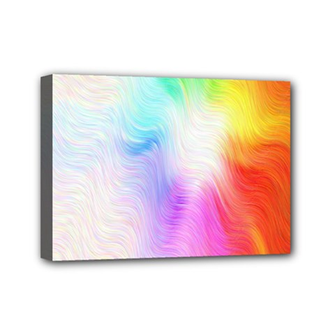 Psychedelic Background Wallpaper Mini Canvas 7  X 5  (stretched)