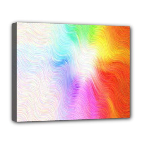 Psychedelic Background Wallpaper Deluxe Canvas 20  X 16  (stretched)