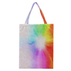 Psychedelic Background Wallpaper Classic Tote Bag by Samandel