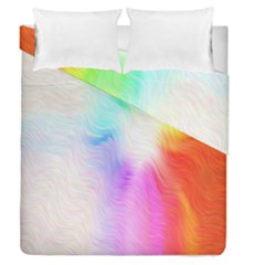 Psychedelic Background Wallpaper Duvet Cover Double Side (queen Size) by Samandel
