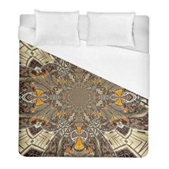 Abstract Digital Geometric Pattern Duvet Cover (full/ Double Size)
