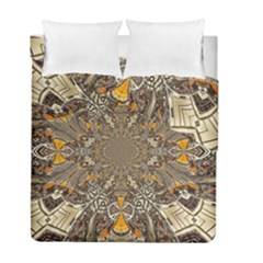 Abstract Digital Geometric Pattern Duvet Cover Double Side (full/ Double Size)