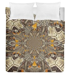 Abstract Digital Geometric Pattern Duvet Cover Double Side (queen Size)