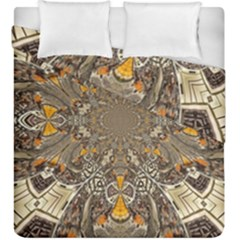 Abstract Digital Geometric Pattern Duvet Cover Double Side (king Size)