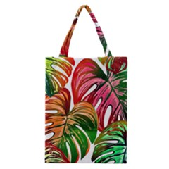Pretty Leaves D Classic Tote Bag by MoreColorsinLife