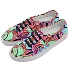 Pretty Leaves A Women s Classic Low Top Sneakers by MoreColorsinLife