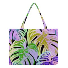Pretty Leaves C Medium Tote Bag by MoreColorsinLife