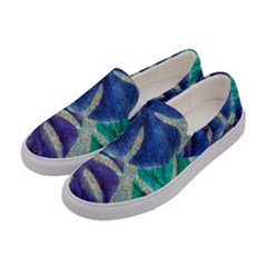 Pretty Leaves 6 Women s Canvas Slip Ons by MoreColorsinLife