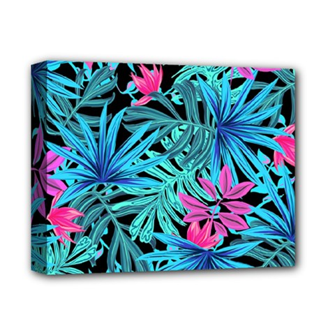 Pretty Leaves 4a Deluxe Canvas 14  X 11  (stretched) by MoreColorsinLife