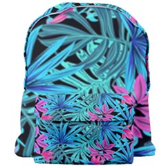 Pretty Leaves 4a Giant Full Print Backpack by MoreColorsinLife