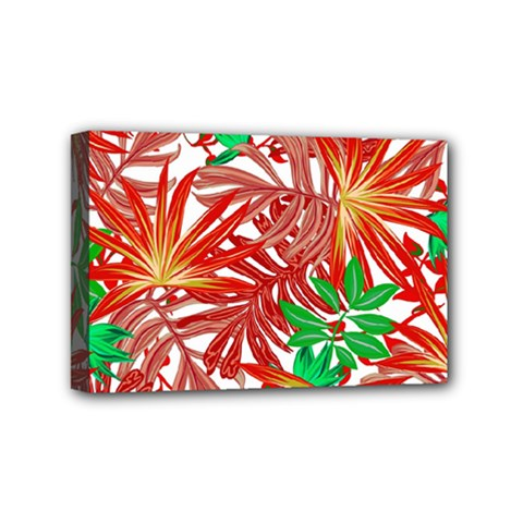 Pretty Leaves 4b Mini Canvas 6  X 4  (stretched) by MoreColorsinLife