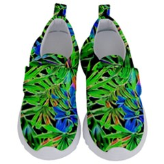Pretty Leaves 4c Velcro Strap Shoes by MoreColorsinLife