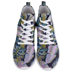 Pretty Leaves 2b Men s Lightweight High Top Sneakers