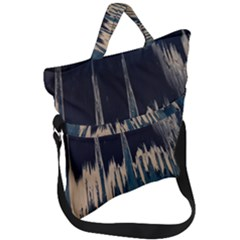 Cavern Fold Over Handle Tote Bag