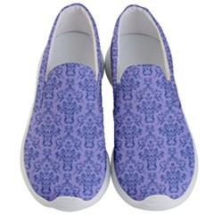Victorian Blue Ornamental Men s Lightweight Slip Ons