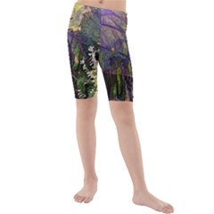 Into Woodlands Kids  Mid Length Swim Shorts by bloomingvinedesign