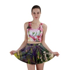 Into Woodlands Mini Skirt by bloomingvinedesign