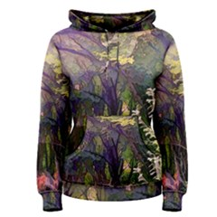 Into Woodlands Women s Pullover Hoodie by bloomingvinedesign