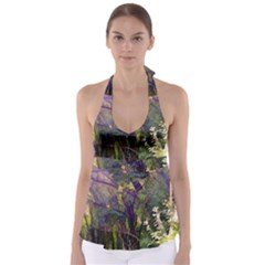 Into Woodlands Babydoll Tankini Top by bloomingvinedesign