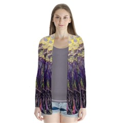 Into Woodlands Drape Collar Cardigan by bloomingvinedesign