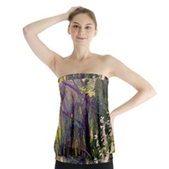 Into Woodlands Strapless Top by bloomingvinedesign