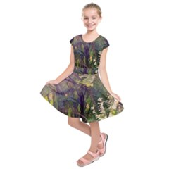 Into Woodlands Kids  Short Sleeve Dress by bloomingvinedesign